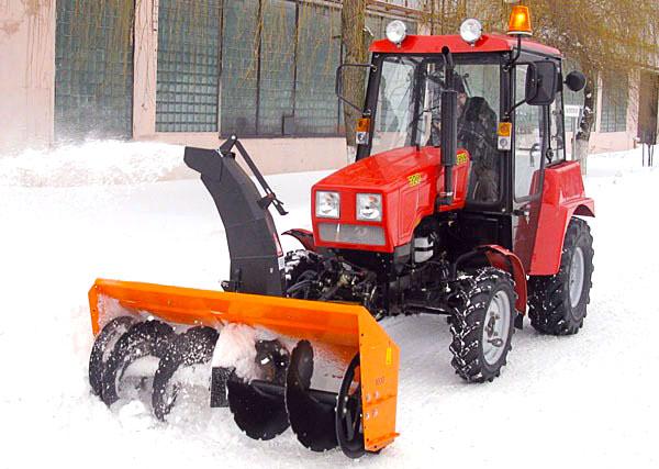 Шнекороторный снегоочиститель своими руками для трактора
